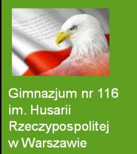 logo gimnazjum 116